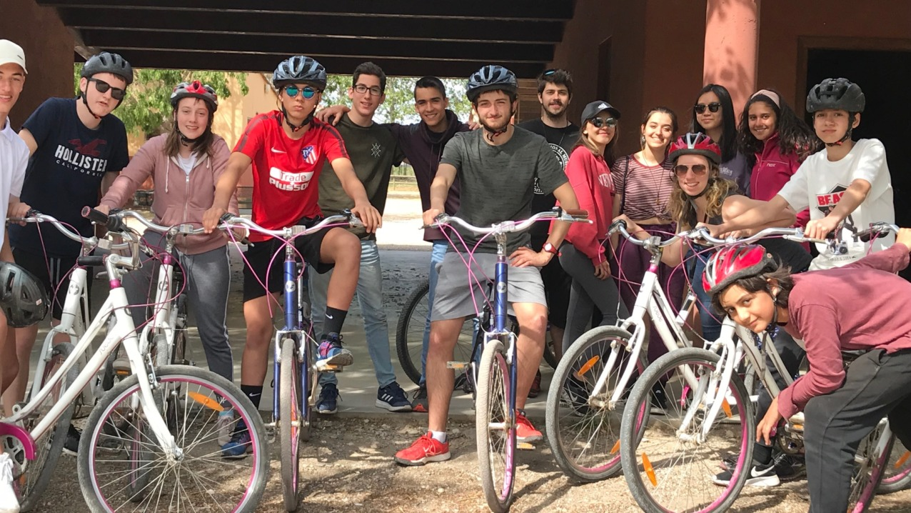 English & Bike summer camp